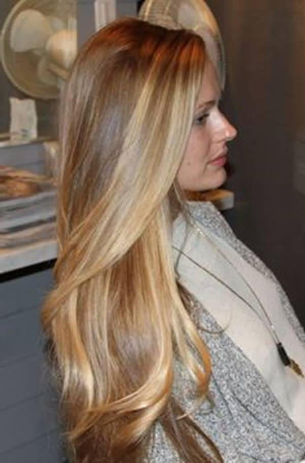 69 Of The Best Blonde Balayage Hair Ideas For You – Style Easily Regarding Golden Blonde Balayage Hairstyles (View 6 of 25)