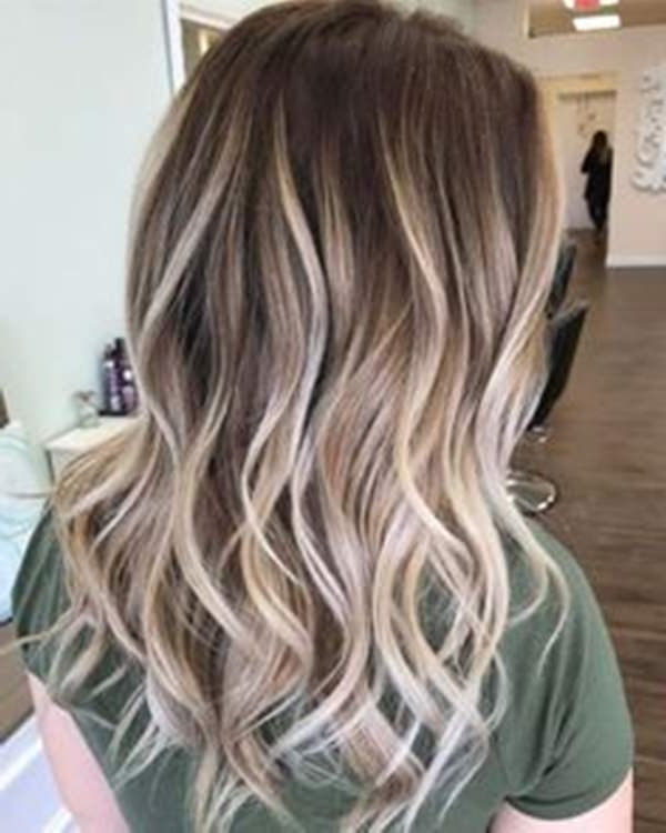 69 Of The Best Blonde Balayage Hair Ideas For You – Style Easily Regarding Icy Highlights And Loose Curls Blonde Hairstyles (View 18 of 25)