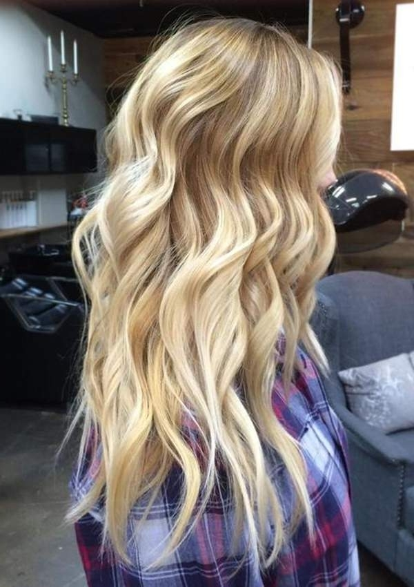 69 Of The Best Blonde Balayage Hair Ideas For You – Style Easily Throughout Golden Blonde Balayage Hairstyles (View 8 of 25)