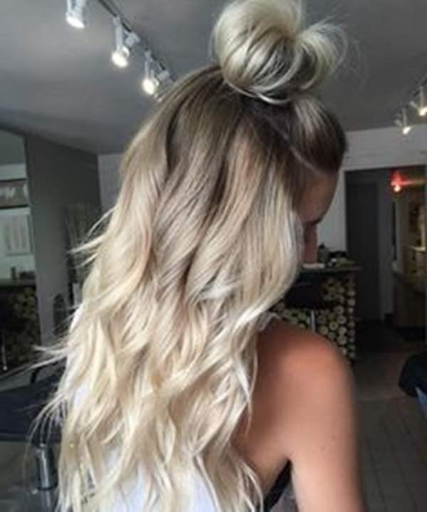 69 Of The Best Blonde Balayage Hair Ideas For You – Style Easily With Grown Out Balayage Blonde Hairstyles (View 8 of 25)