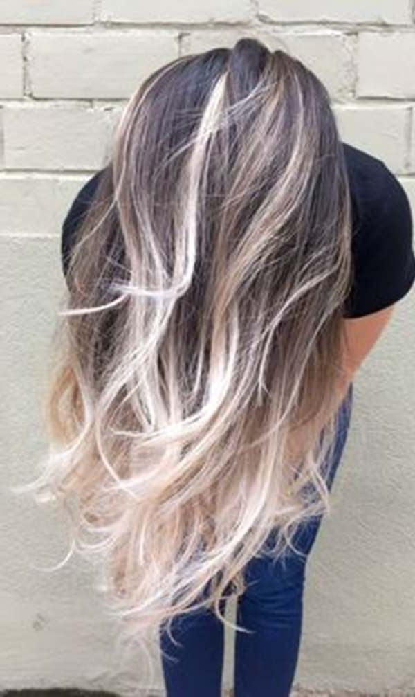 69 Of The Best Blonde Balayage Hair Ideas For You – Style Easily With Grown Out Platinum Ombre Blonde Hairstyles (View 6 of 25)