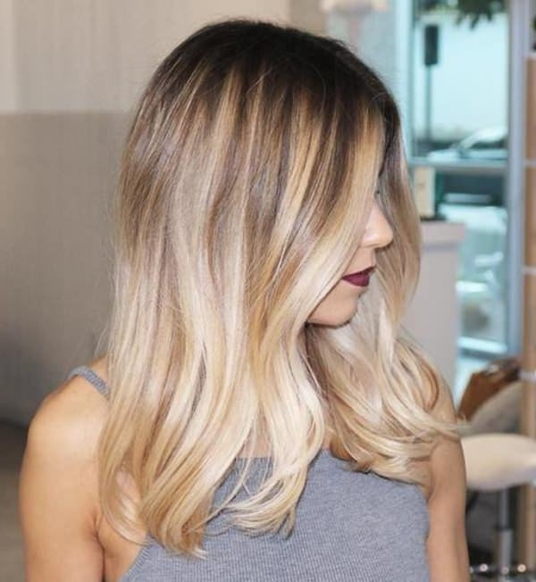 69 Of The Best Blonde Balayage Hair Ideas For You – Style Easily With Medium Blonde Balayage Hairstyles (View 11 of 25)