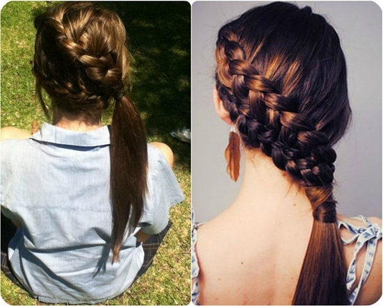 7 Easy And Chic Ponytail Hairstyle For Girls Back To School – Vpfashion With Regard To Braided Side Ponytail Hairstyles (View 23 of 25)
