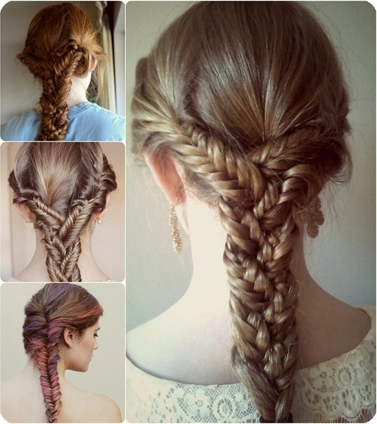7 Easy And Chic Ponytail Hairstyle For Girls Back To School – Vpfashion With Three Braids To One Ponytail Hairstyles (Gallery 2 of 25)