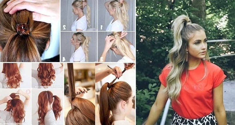7 Great Tips For Creating The Perfect Voluminous Ponytail With Voluminous Pony Hairstyles For Wavy Hair (View 13 of 25)