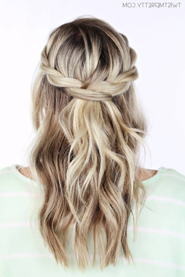 7 Perfectly Romantic Date Night Hairstyles – Thegoodstuff Inside Romantic Twisted Hairdo Hairstyles (View 21 of 25)