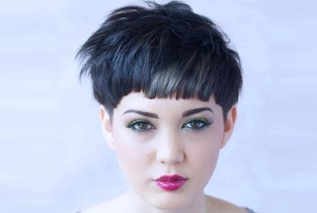 7 Pixie Cuts For Round Faces | Style Presso Regarding Latest Imperfect Pixie Hairstyles (Gallery 25 of 25)