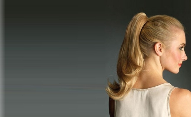 7 Popular And Stylish Ponytail Celebrity Hairstyles   Style Presso In Ponytail Cascade Hairstyles (Gallery 19 of 25)