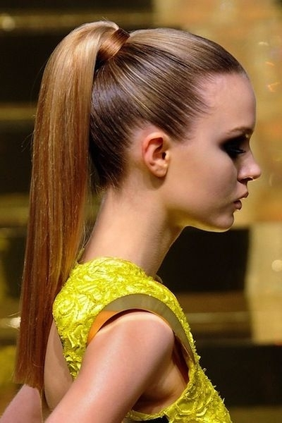 7 Stylish Ways To Wear A Ponytail This Summer | Hairstyles And Intended For High And Glossy Brown Blonde Pony Hairstyles (Gallery 10 of 25)