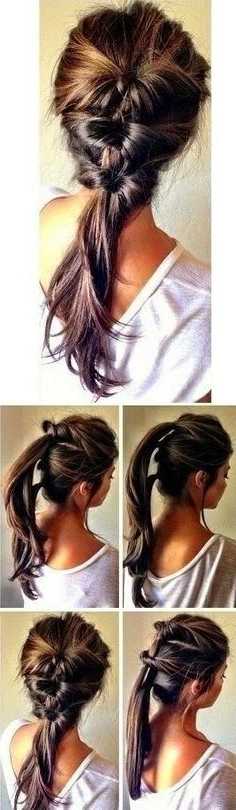 7 Super Cute Everyday Hairstyles For Medium Length – Hair World Magazine Regarding Ponytail Hairstyles For Layered Hair (View 5 of 25)