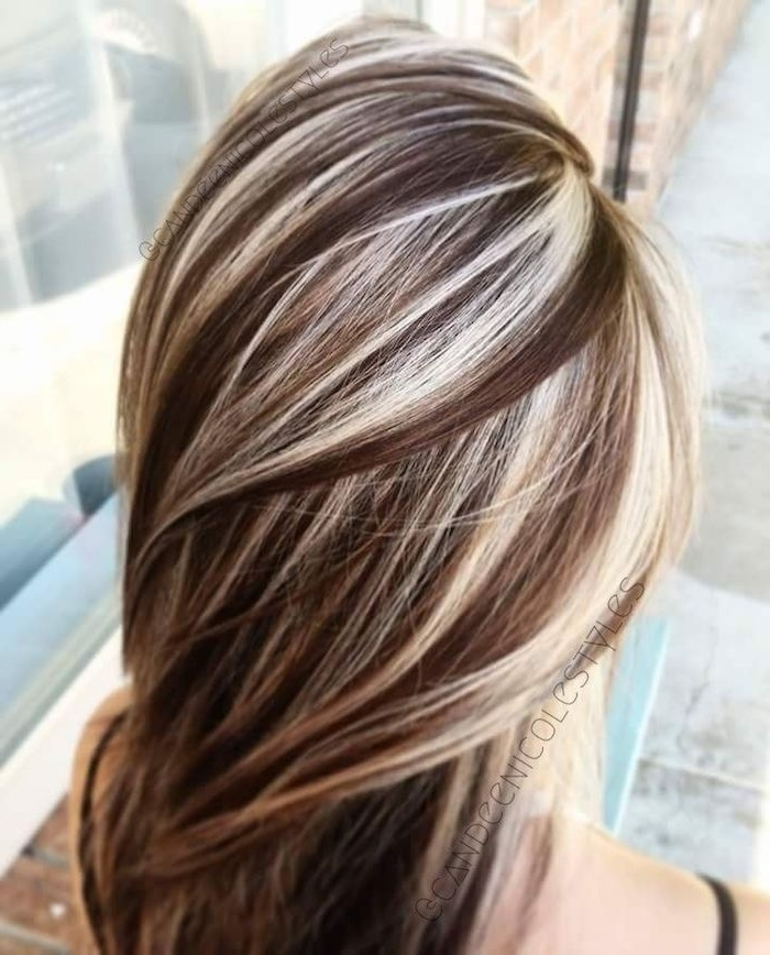 70 + Awesome Styles For Brown Hair With Blonde Highlights Or For Blonde Hairstyles With Platinum Babylights (View 14 of 25)