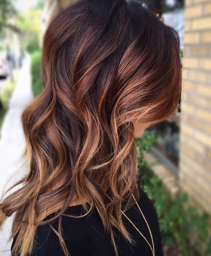 70 + Awesome Styles For Brown Hair With Blonde Highlights Or Pertaining To Loose Curls Blonde With Streaks (Gallery 14 of 25)