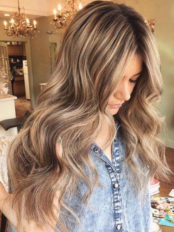70 + Awesome Styles For Brown Hair With Blonde Highlights Or With Loose Curls Blonde With Streaks (View 16 of 25)