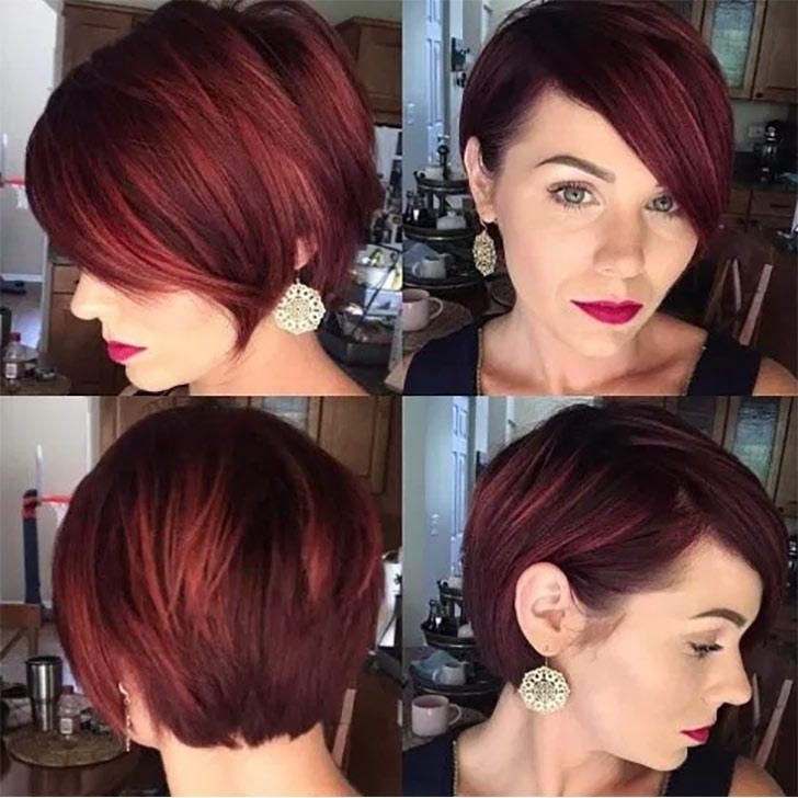 70 Best Pixie Cuts For 2018 In Trend Now For Current Angled Pixie Bob Hairstyles With Layers (Gallery 14 of 25)