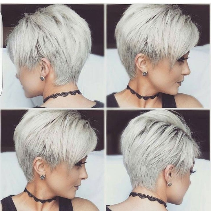 70 Best Pixie Cuts For 2018 In Trend Now Intended For Best And Newest Choppy Gray Pixie Hairstyles (View 20 of 25)
