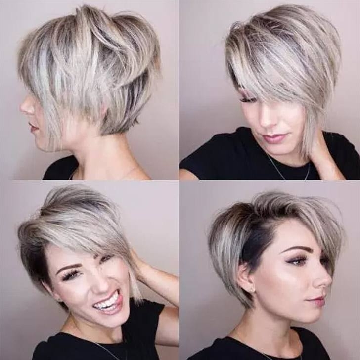 70 Best Pixie Cuts For 2018 In Trend Now With 2018 Choppy Side Parted Pixie Bob Hairstyles (View 20 of 25)
