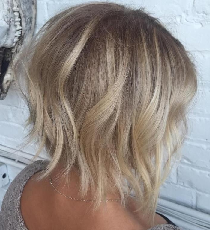 70 Devastatingly Cool Haircuts For Thin Hair | Dishwater Blonde Pertaining To Chamomile Blonde Lob Hairstyles (View 13 of 25)