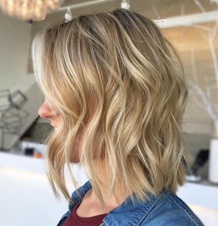 70 Devastatingly Cool Haircuts For Thin Hair | Platinum Highlights With Regard To Thin Platinum Highlights Blonde Hairstyles (View 18 of 25)