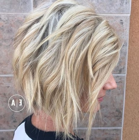 70 Fabulous Choppy Bob Hairstyles | Hair | Pinterest | Blonde Bobs For Shaggy Highlighted Blonde Bob Hairstyles (View 19 of 25)