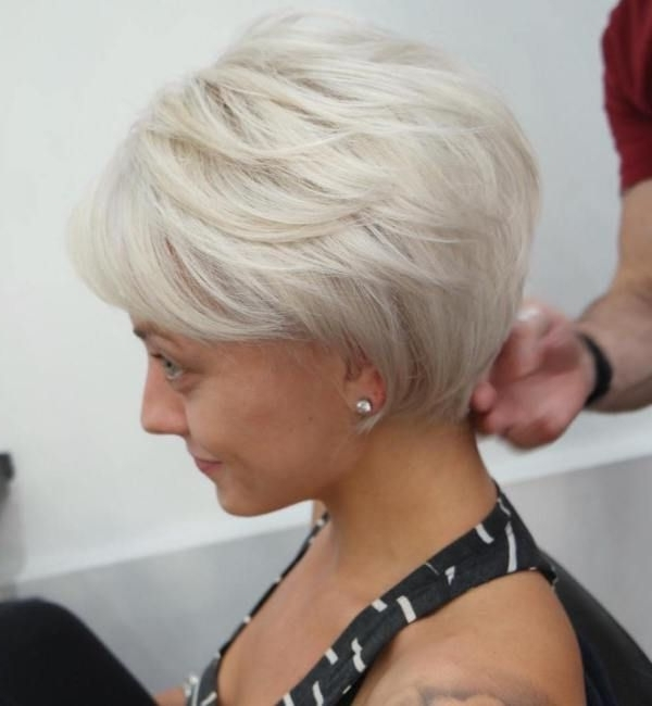 70 Short Shaggy, Spiky, Edgy Pixie Cuts And Hairstyles | Hairstyles Throughout 2018 Long Voluminous Pixie Hairstyles (Gallery 1 of 25)