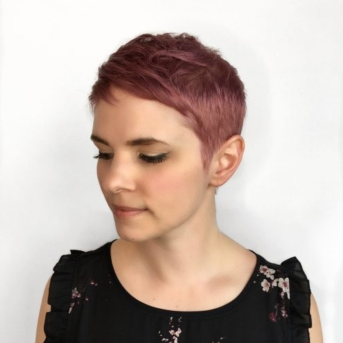 71 Alluring Rose Gold Hair Color Ideas To Try In 2018 Intended For Most Current Rose Gold Pixie Hairstyles (View 7 of 25)