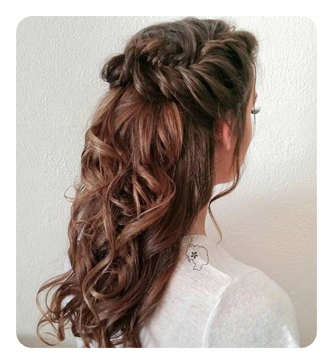 71 Unique Bridesmaid Hairstyles For The Big Day With Cascading Ponytail Hairstyles (Gallery 23 of 25)