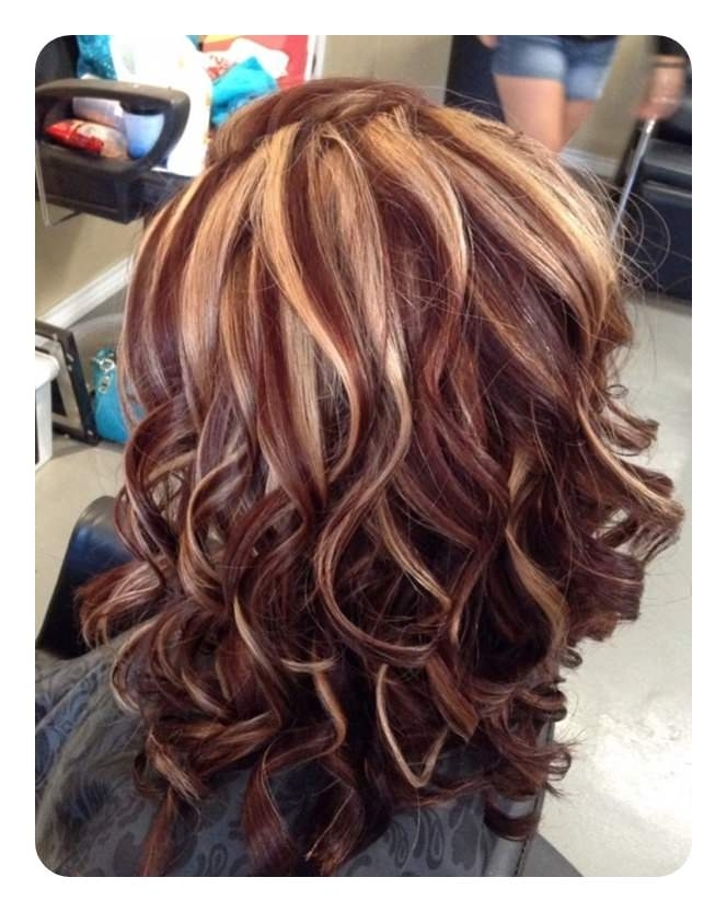 72 Stunning Red Hair Color Ideas With Highlights Pertaining To Light Copper Hairstyles With Blonde Babylights (View 10 of 25)