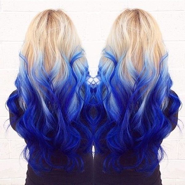 73 Extraordinary Mermaid Hairstyles That Will Turn Heads – Style Easily With Icy Ombre Waves Blonde Hairstyles (View 23 of 25)