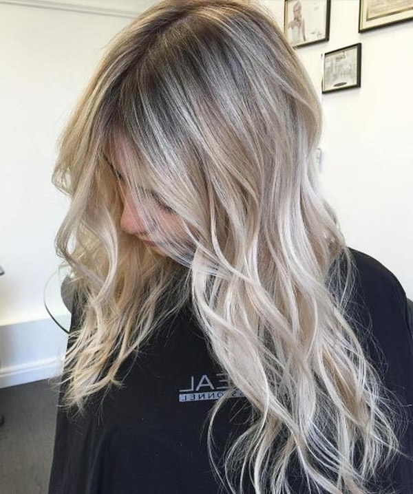 75 Hot Platinum Blonde Hairstyles For Your Next Salon Appointment Inside Platinum Highlights Blonde Hairstyles (Gallery 3 of 25)