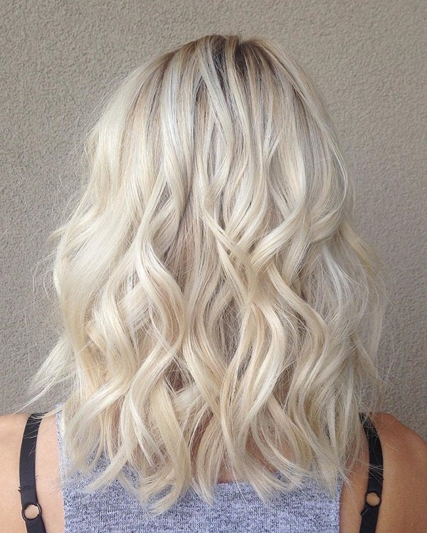 75 Hot Platinum Blonde Hairstyles For Your Next Salon Appointment Throughout All Over Cool Blonde Hairstyles (Gallery 3 of 25)