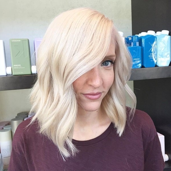 75 Hot Platinum Blonde Hairstyles For Your Next Salon Appointment With Regard To All Over Cool Blonde Hairstyles (Gallery 7 of 25)