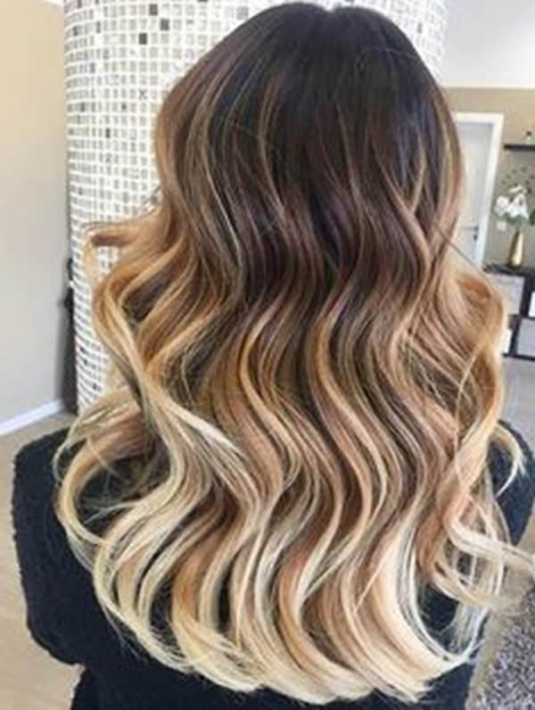 75 Of The Most Incredible Hairstyles With Caramel Highlights Regarding Brown Sugar Blonde Hairstyles (View 12 of 25)