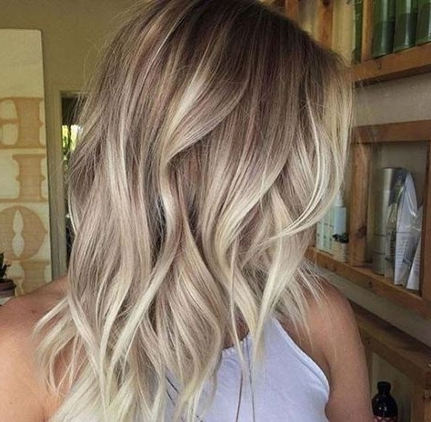755 Best Hair Images On Pinterest | Blond Highlights, Blonde High For Chamomile Blonde Lob Hairstyles (View 12 of 25)