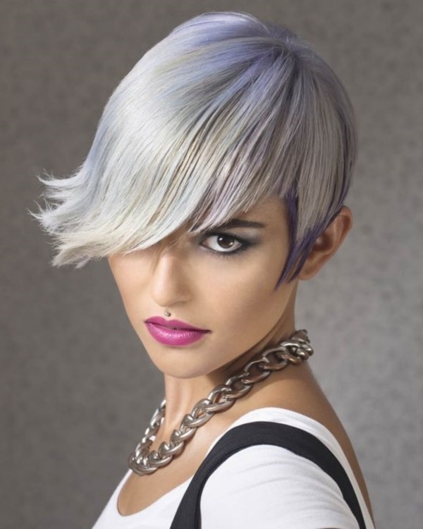 78 Grey Hairstyles To Try For A Hot New Look Intended For Most Current Lavender Pixie Bob Hairstyles (View 19 of 25)