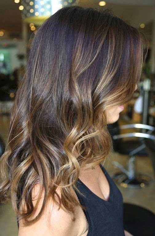 8 Amazing Hair Color With Caramel Highlights | Hairstyles & Hair Within Dark Locks Blonde Hairstyles With Caramel Highlights (Gallery 4 of 25)