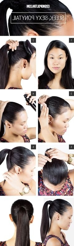 8 Best High Sleek Ponytail Images On Pinterest | Elegant Ponytail With Regard To Hot High Rebellious Ponytail Hairstyles (View 12 of 25)