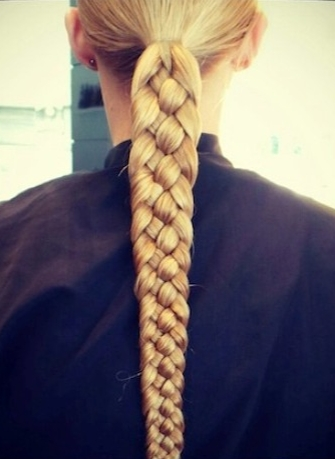 8 Braided Hairstyles To Dress Up Your Boring Ponytail | Hair For Three Braids To One Ponytail Hairstyles (Gallery 9 of 25)