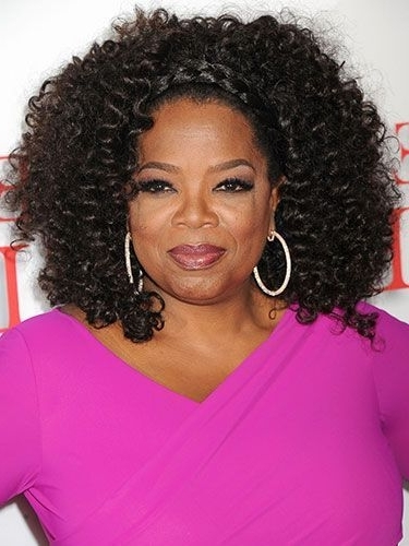 8 Gorgeous Oprah Winfrey Hair (Bob, Long & Pixie Hairstyles For Pertaining To Medium Blonde Bob With Spiral Curls (Gallery 20 of 25)