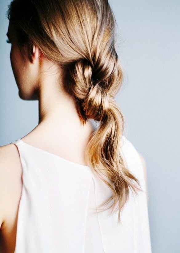 8 Hairstyles That Look Way Better On Second Day Hair | Pinterest Inside Double Tied Pony Hairstyles (View 10 of 25)