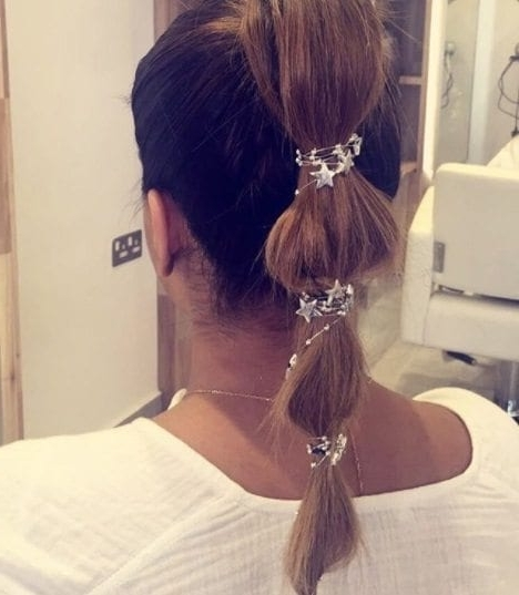8 Ways To Style A Bubble Pony When A Regular Ponytail Just Won't Cut It Pertaining To Bubbly Blonde Pony Hairstyles (View 6 of 25)