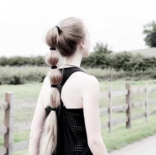 8 Ways To Style A Bubble Pony When A Regular Ponytail Just Won't Cut It With Sleek Bubble Ponytail Hairstyles (Gallery 24 of 25)