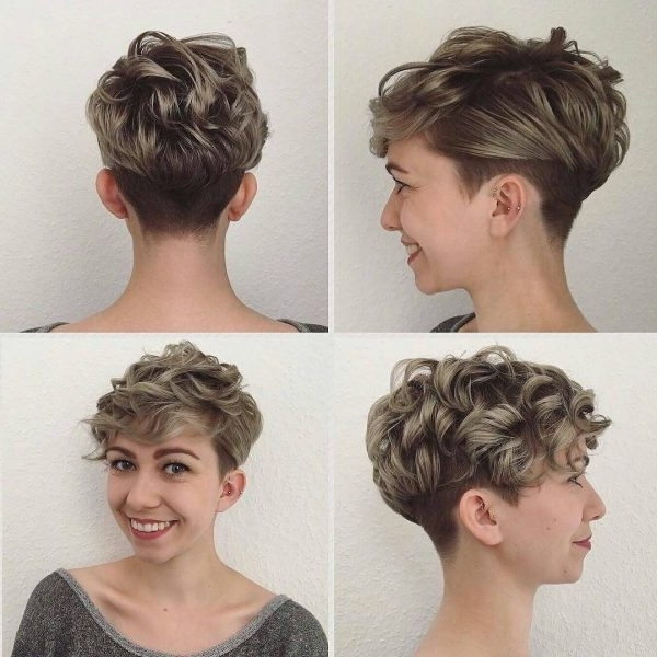 80 Best Pixie Cut Hairstyles – Trending Pixie Cuts For Women 2018 Regarding 2018 Tousled Pixie Hairstyles With Undercut (Gallery 18 of 25)