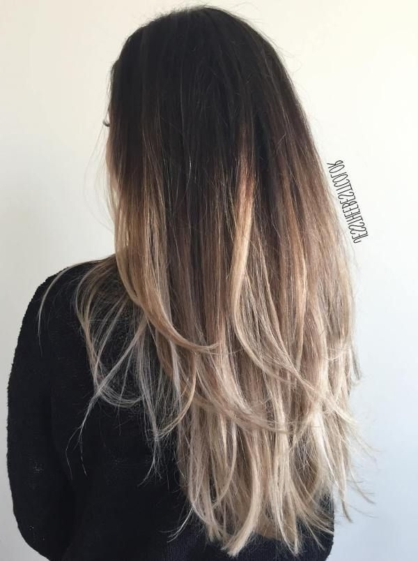 80 Cute Layered Hairstyles And Cuts For Long Hair | Hair | Pinterest With Brown Blonde Layers Hairstyles (View 13 of 25)