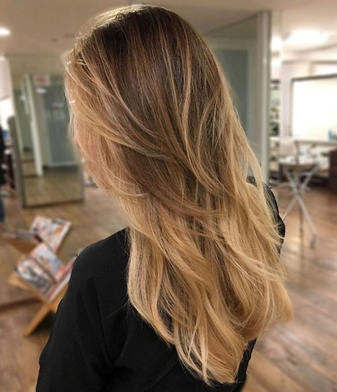 80 Cute Layered Hairstyles And Cuts For Long Hair | Hair Style Throughout Brown Blonde Layers Hairstyles (View 2 of 25)