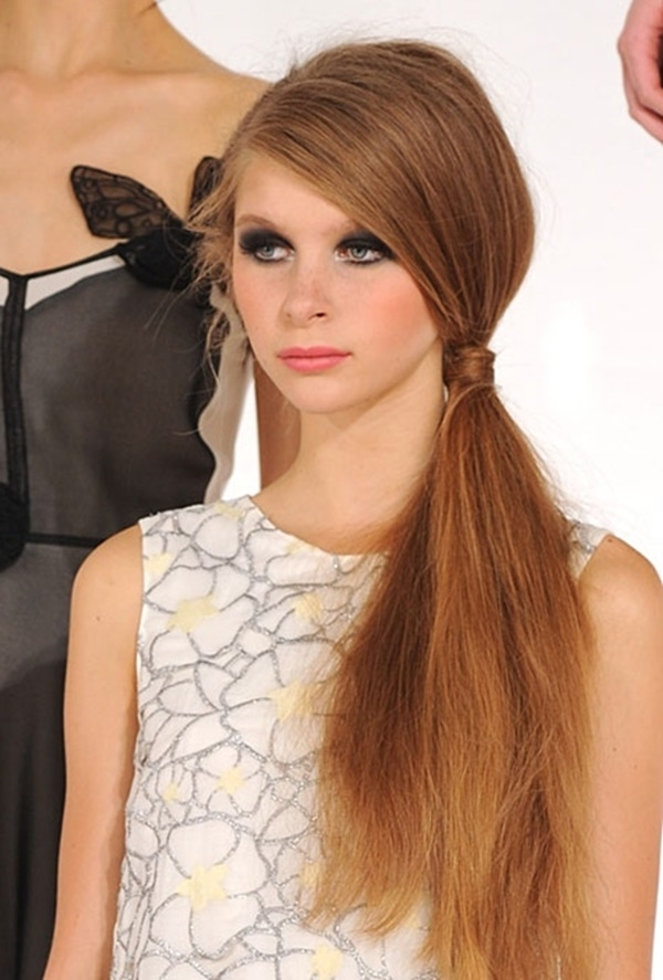 80 Lovely Women Ponytail Hairstyles For Long Hair Intended For Lively And Lovely Low Ponytail Hairstyles (Gallery 17 of 25)