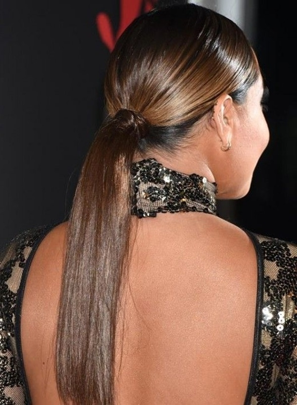 80 Lovely Women Ponytail Hairstyles For Long Hair Pertaining To Lively And Lovely Low Ponytail Hairstyles (View 19 of 25)