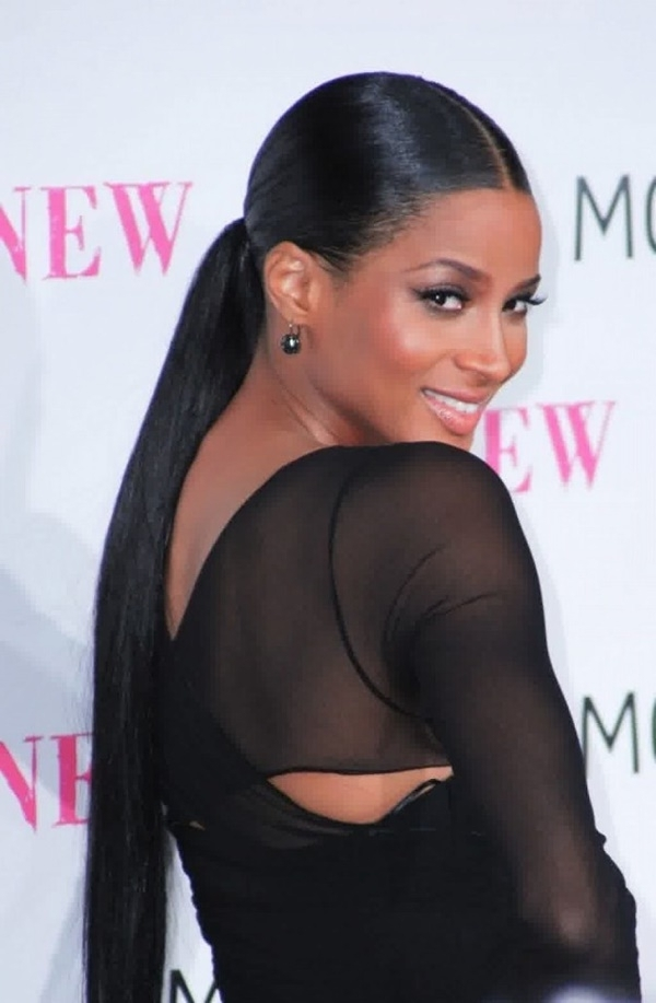 80 Lovely Women Ponytail Hairstyles For Long Hair Within Sleek Straightened Black Ponytail Hairstyles (Gallery 6 of 25)