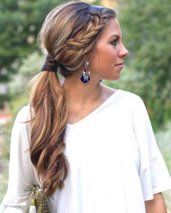 82 Of The Most Romantic And Inspiring Side Ponytails Inside Formal Side Pony Hairstyles For Brunettes (Gallery 7 of 25)