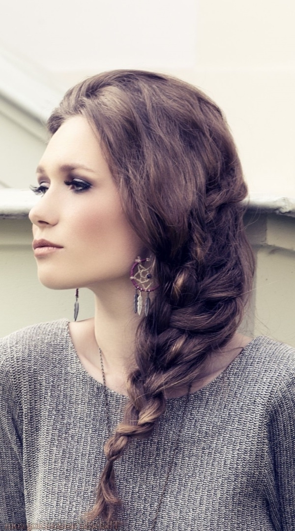 82 Of The Most Romantic And Inspiring Side Ponytails Intended For Fancy And Full Side Ponytail Hairstyles (View 18 of 25)