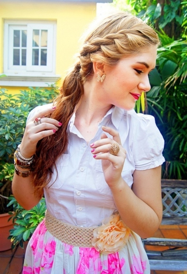 82 Of The Most Romantic And Inspiring Side Ponytails Regarding Messy Side Braided Ponytail Hairstyles (Gallery 21 of 25)